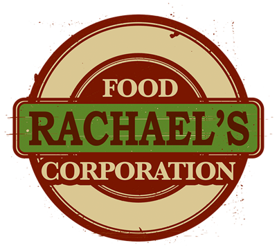 Rachael's Food Corporation logo, grab and go food provider, food provider MA